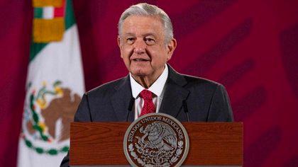 """Debido a que falta el pago de 9,000 migrantes, pidió al presidente de México, Andrés Manuel López Obrador, que no se desaparezca el fideicomiso """"porque ahí en el fondo hay un remanente de (192 mil) millones de pesos"""" (Foto: Presidencia de México)"""