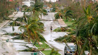 El huracán Wilma sigue siendo el siniestro más caro en la historia de la AMIS (Foto: Twitter@CancunForos)