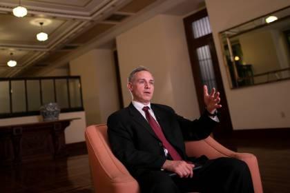 Hugo López-Gatell, subsecretario de prevención y promoción de la salud (Foto: Reuters / Carlos Jasso)