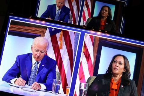 Quedan 4 estados en juego en EU y Trump ya no alcanza a Biden