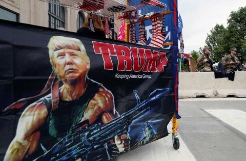 Celebra Trump primer gran mitin de campaña en tres meses
