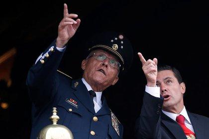 Cienfuegos está acusado de cuatro delitos relacionados con narcotráfico en una corte de Nueva York (Fotos: REUTERS/Gustavo Graf)