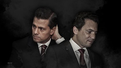 Lozoya apuntó contra su ex jefe, el ex presidente Peña Nieto, por supuestamente coordinar el pago de sobornos (Fotoarte: Jovani Pérez Silva/Infobae)