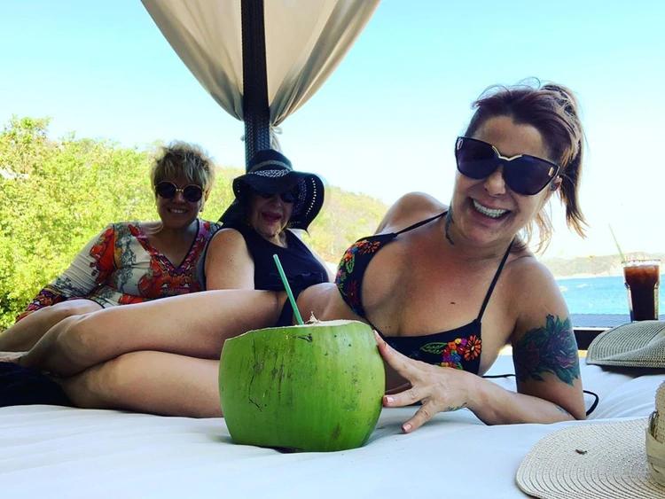 Así se mostró Alejandra disfrutando de sus vacaciones (IG: laguzmanmx)