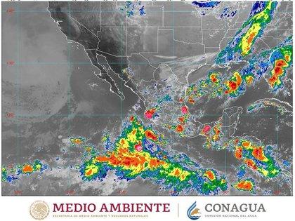 Se estiman lluvias y frio en varios estados de México  (Foto: Twitter@conagua_clima)
