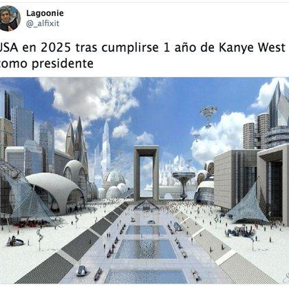 Un utópico futuro según los cibernautas (Foto: Captura de pantalla)