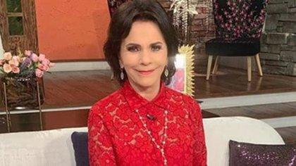 Pati Chapoy, es una periodista y conductora de televisión con más de 30 años de experiencia (Foto: Twitter: @VentaneandoUno)