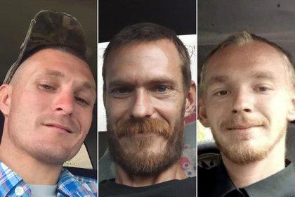 Brandon Rollins, de 27 años, Keven Springfield, de 30, y Damion Tillman, de 23, son las víctimas de la masacre de Frostproof