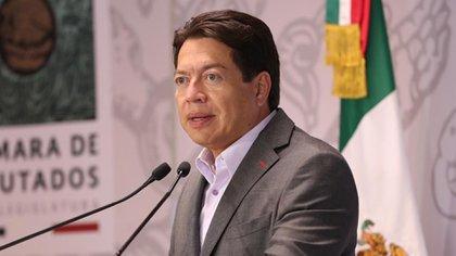La iniciativa pretende desaparecer los fideicomisos y destinar sus aproximadamente 150 mil millones de pesos, según afirma el diputado Mario Delgado, al sector salud (Foto: Cortesía Cámara de Diputados)