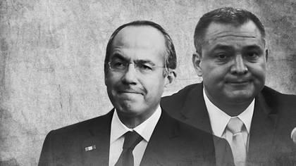 Felipe Calderón y Genaro García Luna, complicidades. (Fotoarte: Jovani Pérez Silva)