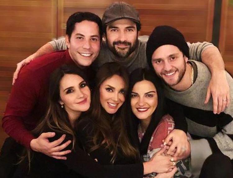 Los ex integrantes de la banda surgida de la telenovela mexicana, Rebelde, volvieron a publicar un momento juntos y aprovecharon para felicitar a sus seguidores por el inicio del año 2020. (Foto: Instagram)