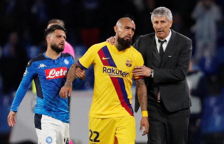 Vidal ya estuvo en la órbita del Inter. En el último tiempo, recuperó continuidad en Barcelona (REUTERS/Guglielmo Mangiapane)