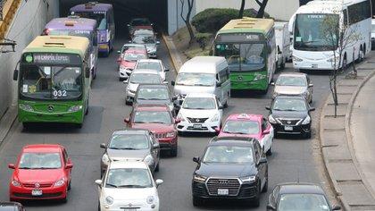 Se espera carga vehicular el jueves 17 de septiembre, tome sus precauciones (Foto: Cuartoscuro)
