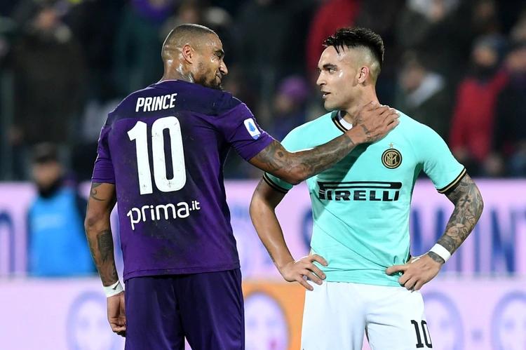 Recientemente Boateng protagonizó una pelea con Lautaro Martínez - REUTERS/Jennifer Lorenzini