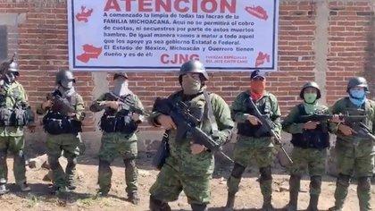 Los funcionarios antidrogas estadounidenses consideran al CJNG como la más grande amenaza criminal de drogas en los Estados Unidos (Foto: Captura de pantalla)
