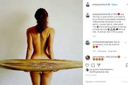 La imagen desató el furor entre los 5.2 millones de seguidores de la actriz. (Foto: Instagram Aracely Arámbula)