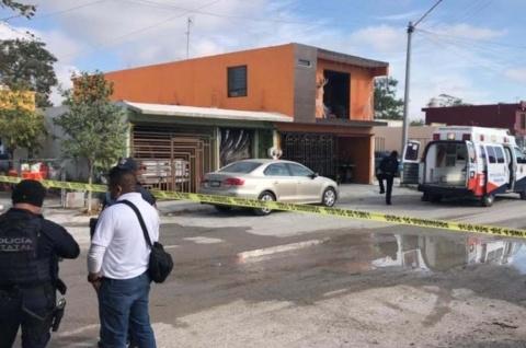 casa donde ocurrieron los homicidios