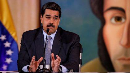 El dictador venezolano Nicolás Maduro (EFE/ Rayner Pena)