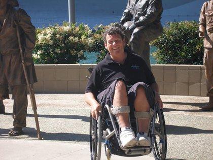 Trágico final para la atleta paralímpica (Twitter: @msparasurfer)