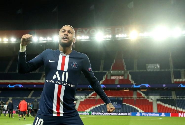Neymar, la estrella del PSG que buscará luchar por la Champions League