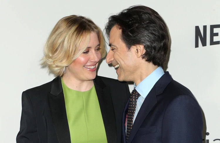 Greta Gerwig y Noah Baumbach (Shutterstock)