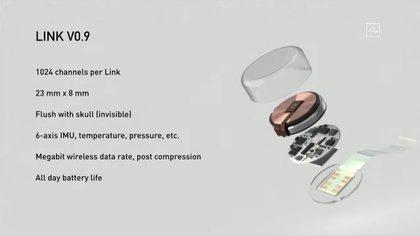Así es el chip desarrollado por Neuralink