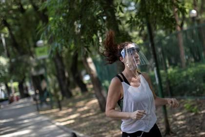 Para el 1 de junio también se permitirá la apertura de parques, para que la población pueda hacer actividades físicas (Foto: Reuters/Carlos Jasso)