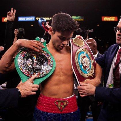 Ryan García tiene un gran futuro por delante (Foto: Instagram/ @kingryang)