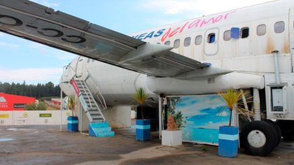 Exterior Motel Avion de Ocoa
