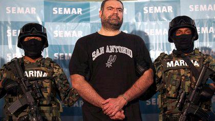 """Sergio Villarreal Barragán alias """"El Grande"""", lugarteniente del Cártel de los hermanos Beltrán Leyva. (Foto: Reuters)"""