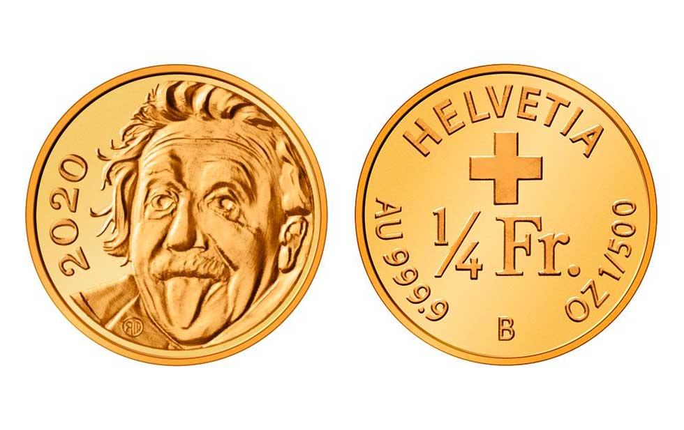 Resultado de imagen para Suiza emite la moneda de oro más pequeña del mundo