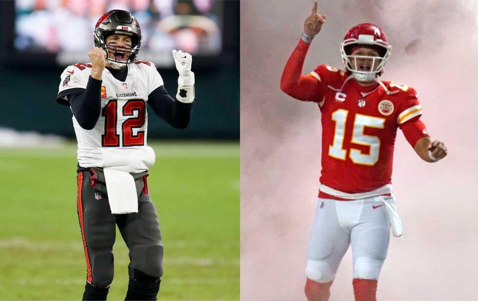 Duelo de titanes: Brady vs Patrick en el Super Bowl LV