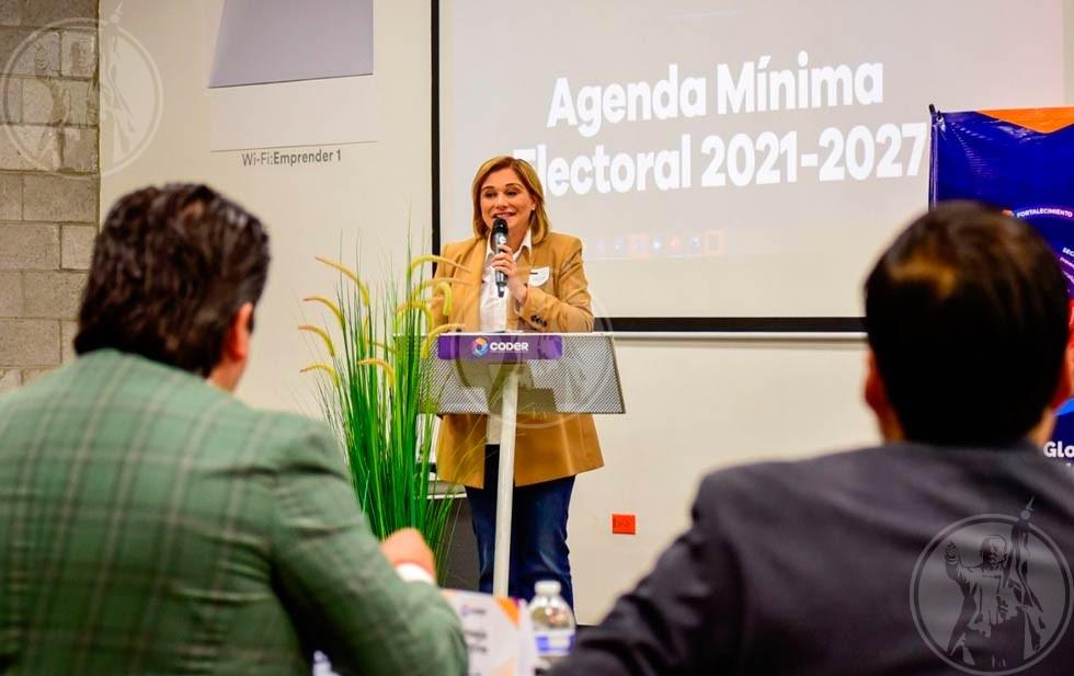 Se reúne Maru a integrantes del CODER Juárez   El Diario