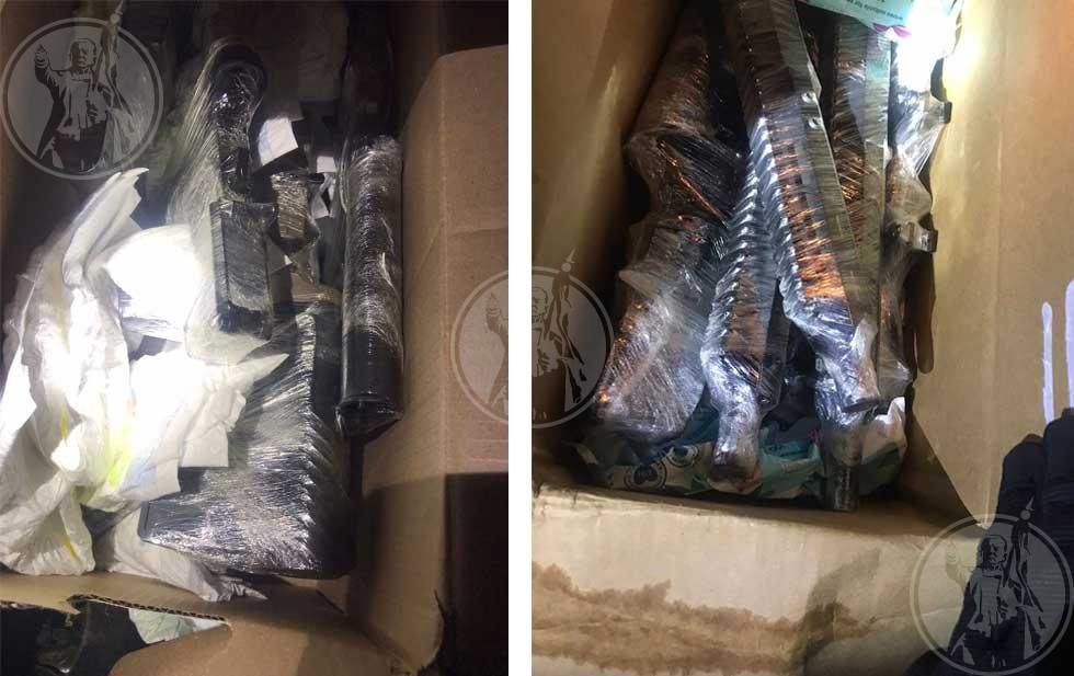 Asegura GN a pareja armas de fuego, cargadores y balas